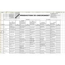 example of a 5s audit check sheet free template u0026 implementation plan