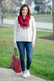 Skinny Jeans And Converse 3 Ways To Wear White Converse Shoreline This Winter