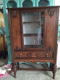 antique jacobean china cabinet by jennylanefurniture on etsy diy