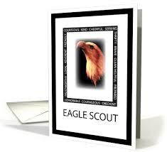 cards for eagle scout congratulations congratulations for eagle scout with eagle virtues 255937