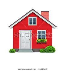 image of house vector illustration cool detailed red house เวกเตอร สต อก 94498447