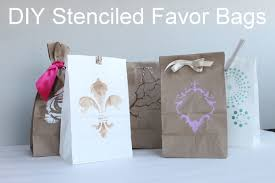 paper favor bags and easy favor bags for weddings or the country