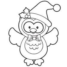 santa gift christmas coloring comical christmas coloring