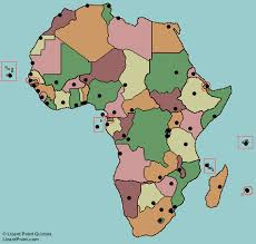 n africa map quiz test your geography knowledge africa capital cities quiz