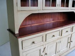 Country Buffet And Hutch Custom China Cabinet Hutch Lake And Mountain Home