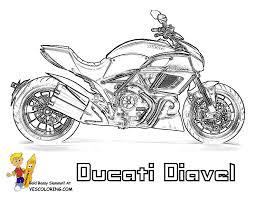 motorcycle coloring pages print bebo pandco