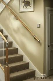 Banister Installation Kit Wood Stair Wall Handrails Wood Railing Http Awoodrailing Com