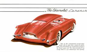 corvette world articles 1954 chevrolet gm corvette motorama