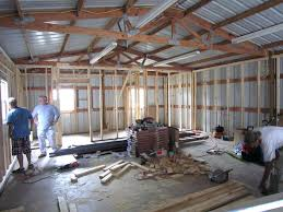 timber frame garage addition with living space boat house quarters