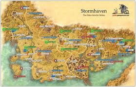 Online World Map by Stormhaven Daggerfall Covenant The Elder Scrolls Online Game