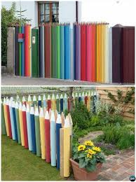 Backyard Fence Decorating Ideas Backyard Garden Fence Decoration Makeover Diy Ideas