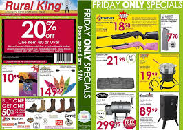 black friday 2016 ad scans rural king black friday 2016 ad scan and sales slickguns gun deals