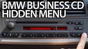 how to enter hidden menu bmw radio business cd diagnostic service