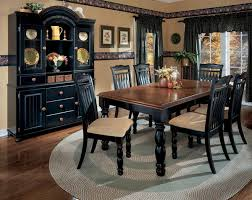 black dining room sets black dining room set for the home black
