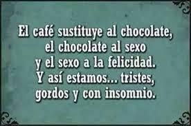 Memes Cafe - el café sustituye al chocolate chistes cortos whatsapp cafe
