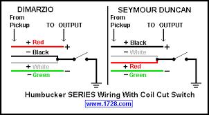 dimarzio humbucker wiring diagram