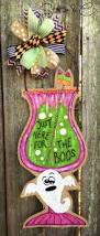 Halloween Decorating Doors Ideas Best 25 Boo Door Hanger Ideas On Pinterest Halloween