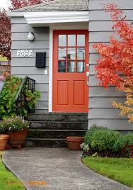 Front Door Color Best 25 House Front Doors Painted With Bright Color Ideas On