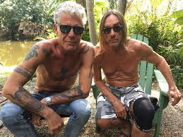 anthony bourdain anthony bourdain and iggy pop pics