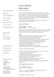 sample resume for a cashier free resume templates template top
