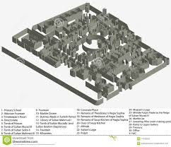 floor plan of hagia sophia museum stock images image 17319634