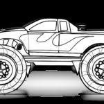 easy truck colouring pages gekimoe u2022 4459