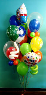 big balloon delivery birthday bouquets birthday centerpieces columns birthday numbers