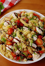 salad pasta best caprese pasta salad recipe how to make caprese pasta salad