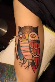 traditional and amazing owl bird tattoo golfian com