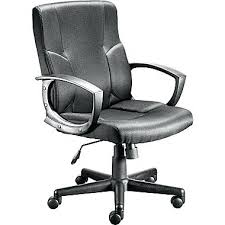 white leather office chair modern offices to go in staples chairs