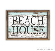 beachy signs house decor summer house signs signs house