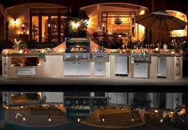 creative outdoor kitchen design center on a budget classy simple