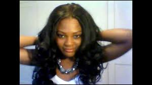 full weave sew in with lace front closure youtube