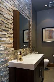 bathroom wall designs the look of stacked in the bathroom so easy with our