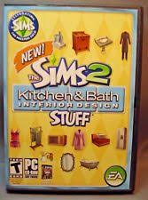the sims 2 kitchen and bath interior design simulation pc video games with expansion pack ebay