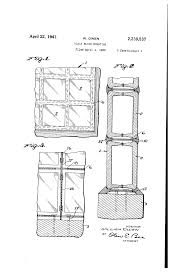 patent us2239537 glass block mounting google patents