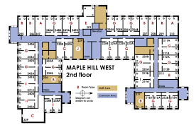 Floor Plan Of A Bakery by University Housing Campus Communities Maple Hill West