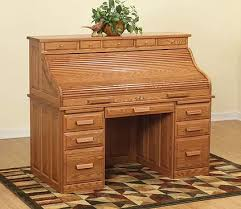 jefferson roll top desk hide your clutter a guide to enclosed desk styles the amish home