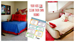 Cleaning For Lazy People Cleaning Checklist For Kids Rooms Free Printable