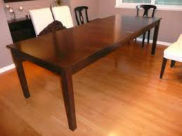 Extended Dining Table by Dining Table Extends To 16 Feet With Osborne Table Slides