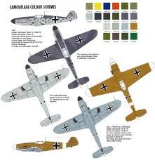 art luftwaffe camouflage color varitions model planes tanks etc