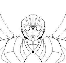 bumble bee coloring page 971