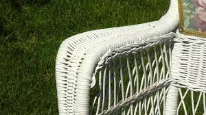 How To Restore Wicker Patio Furniture - how to clean cane chairs youtube