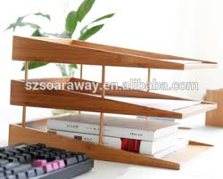 File Desk Organizer Bamboo Desk Organizer A4 Paper Tray File Tray Buy Bamboo Desk