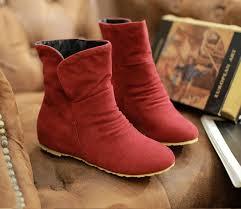 womens flat boots uk fashion autumn winter flat heel stiletto ankle boots