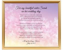 hochzeitsgeschenk schwester schwester hochzeitsgeschenk hochzeit geschenk gedicht für