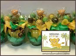 lion king baby shower ideas baby simba cake pops amanda makes cakes amanda makes cakes