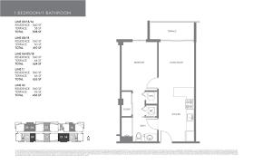 Infinity Floor Plans by 26edgewater Miami