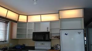 how to put lights above cabinets lighting above kitchen cabinets