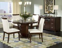Round Dining Room Interesting Round Dining Room Table Decor Decorating With And